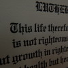"""This life"" broadside by Martin Luther"