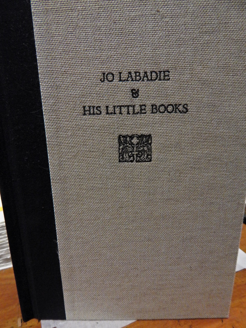 Joseph Labadie's little books