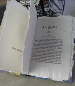 Ars Poetica book photo