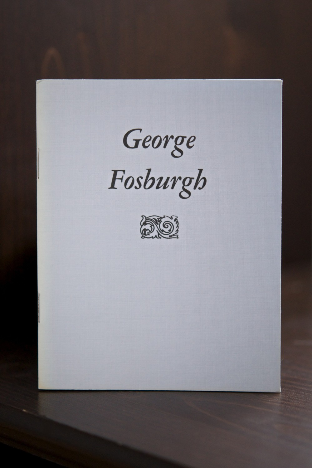 George Fosburgh pamphlet