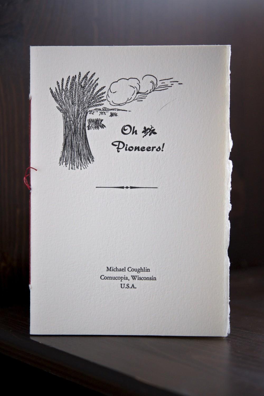 Oh Pioneers! pamphlet