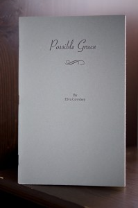 Possible Grace poetry book by Elva Cowdery