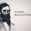 Thoreau quote broadside up-close photo