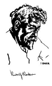 Sketch of Rudolf Rocker
