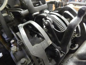 Linotype cams